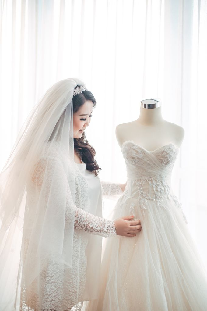 Love is a song that never ends ❤ by Gorgeous Bridal Jakarta - 008