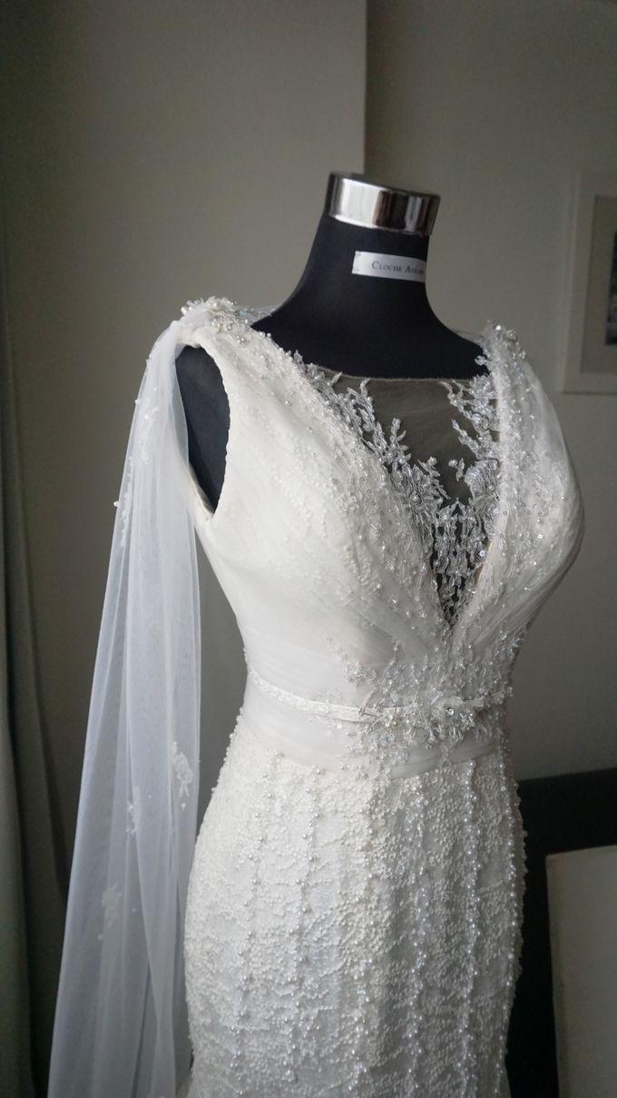 Markus & Tressi's Wedding by Cloche Atelier - 005