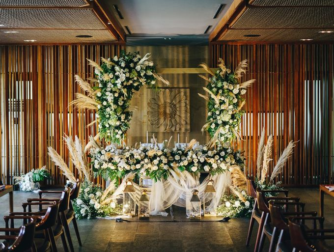 Rita and Irvan Wedding Decorations by Bali Wedding Atelier - 007