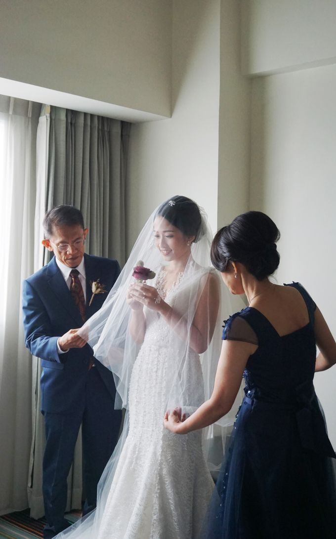 Markus & Tressi's Wedding by Cloche Atelier - 006