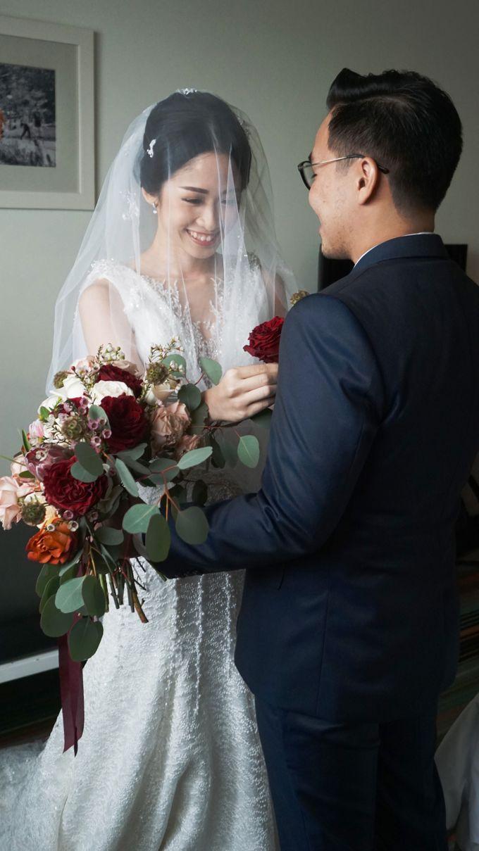 Markus & Tressi's Wedding by Cloche Atelier - 007