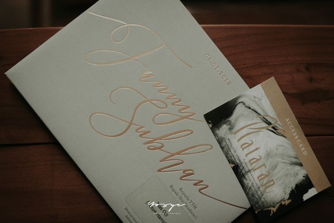 MARRIAGE CEREMONY by Yosye Wedding Journal - 049