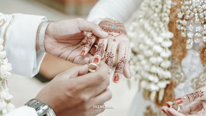 Wedding Indah n Reza by 3KENCANA PHOTOGRAPHY - 010