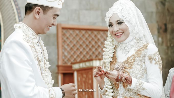 Wedding Indah n Reza by 3KENCANA PHOTOGRAPHY - 009