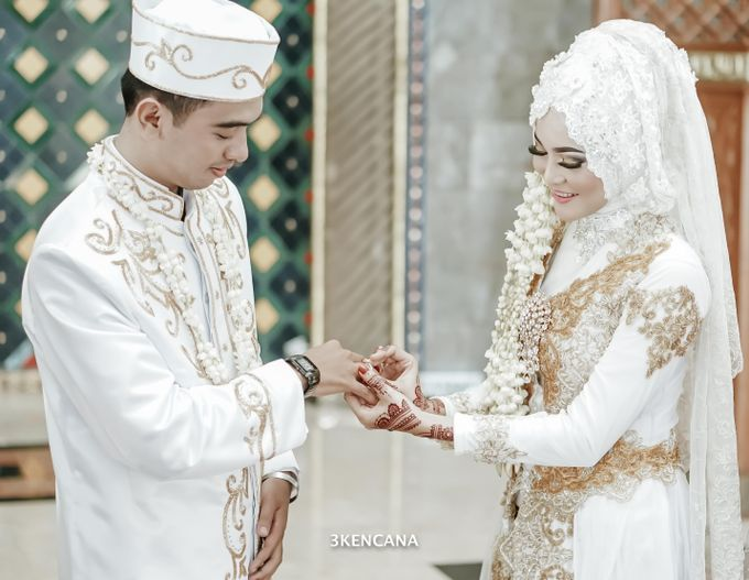 Wedding Indah n Reza by 3KENCANA PHOTOGRAPHY - 007