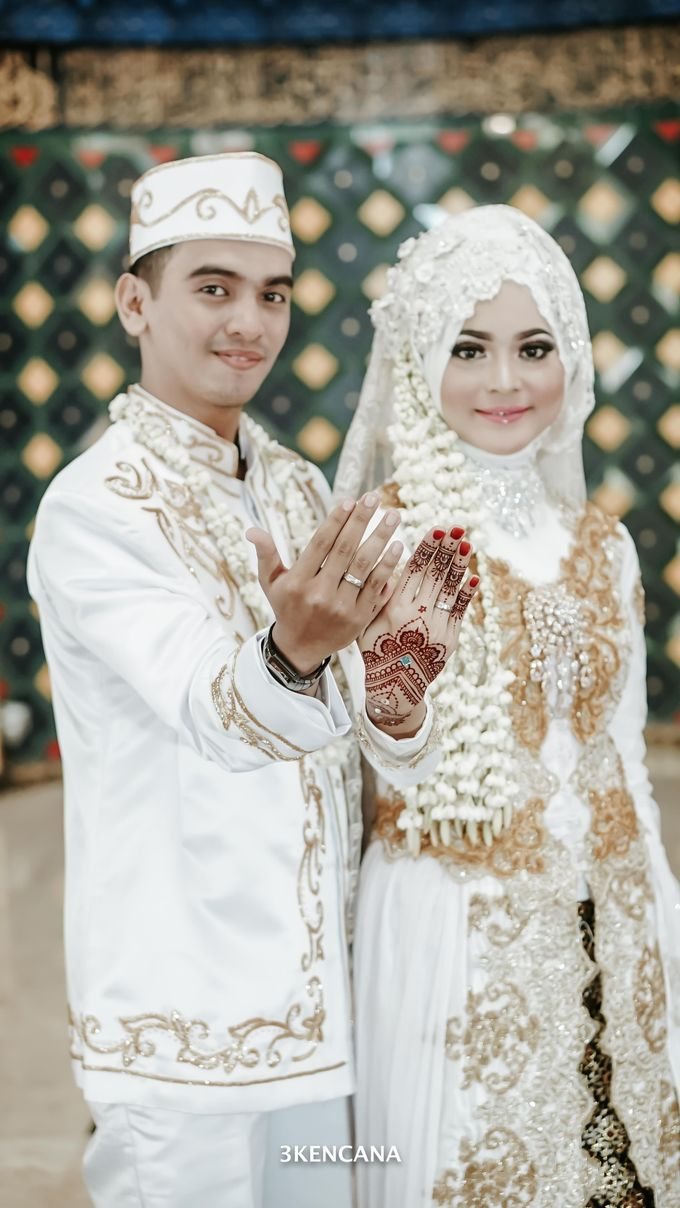Wedding Indah n Reza by 3KENCANA PHOTOGRAPHY - 008