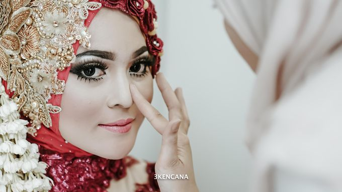 Wedding Indah n Reza by 3KENCANA PHOTOGRAPHY - 006
