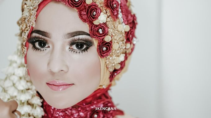 Wedding Indah n Reza by 3KENCANA PHOTOGRAPHY - 004