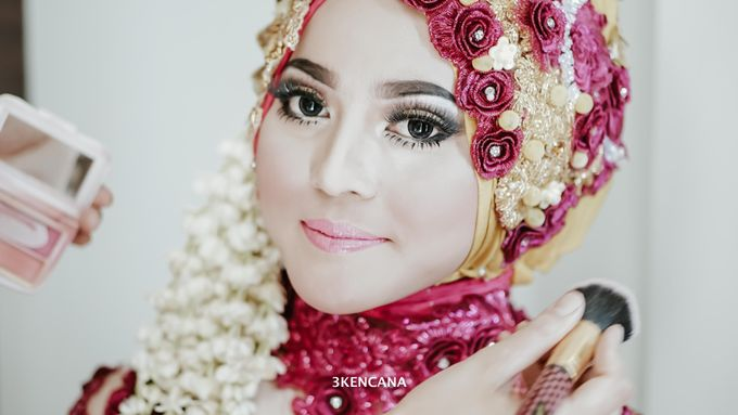 Wedding Indah n Reza by 3KENCANA PHOTOGRAPHY - 003
