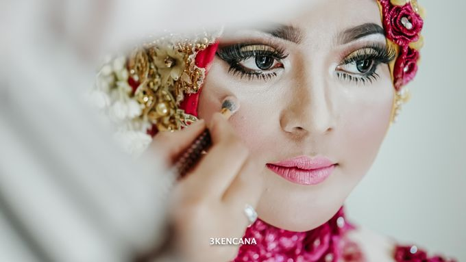 Wedding Indah n Reza by 3KENCANA PHOTOGRAPHY - 002