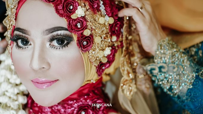Wedding Indah n Reza by 3KENCANA PHOTOGRAPHY - 001