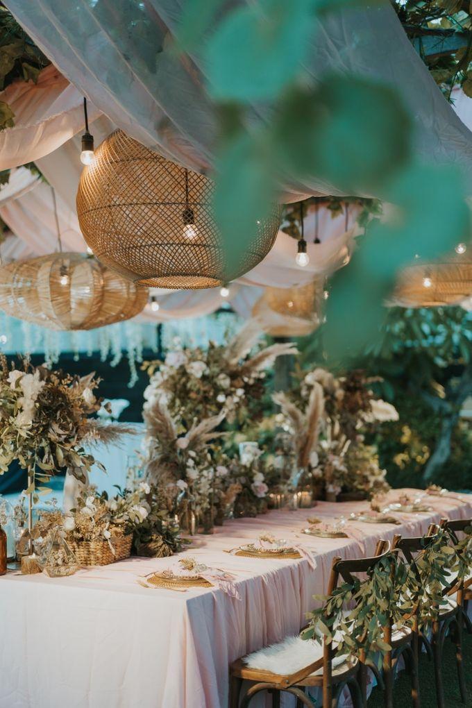 Steffy and Temi Wedding Decoration by Fuchsia Bali by KAMAYA BALI - 006