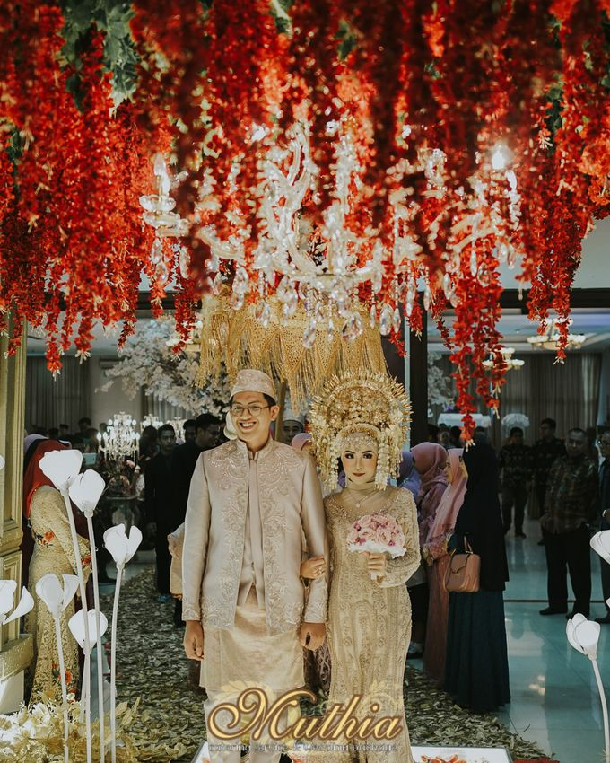 Wedding Of Tiari & Yoga by Muthia Catering - 044