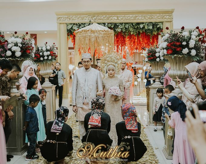 Wedding Of Tiari & Yoga by Muthia Catering - 017
