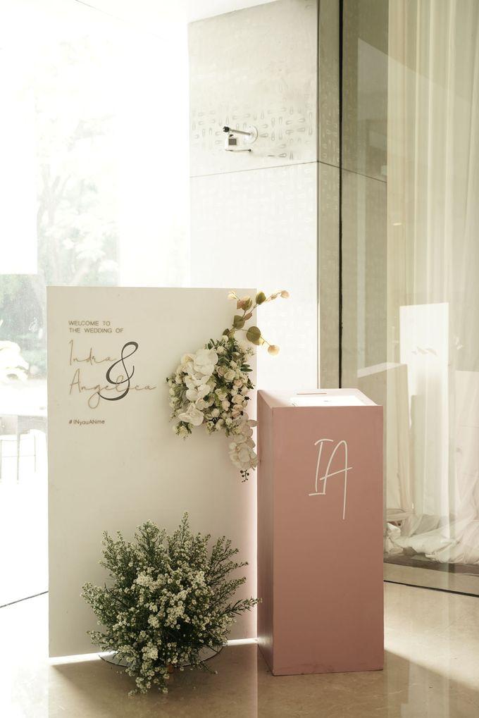 Indra  & Angel Wedding At Double Tree Hotel by Cerita Bahagia - 030