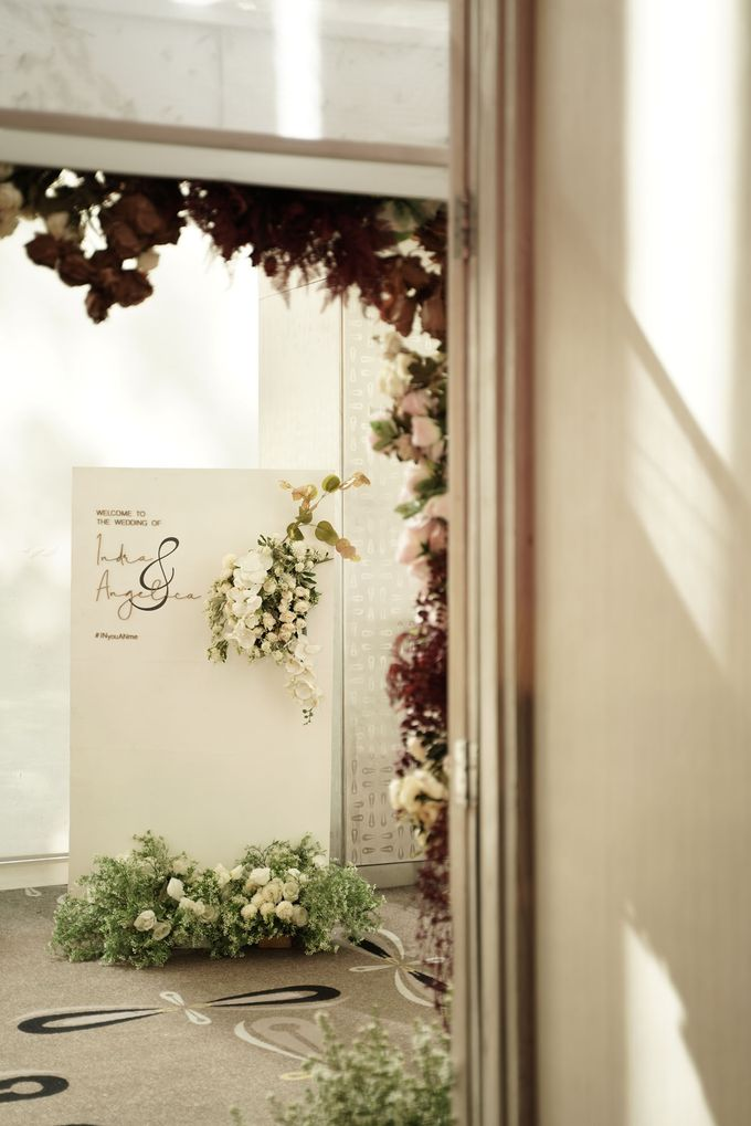 Indra  & Angel Wedding At Double Tree Hotel by Cerita Bahagia - 016
