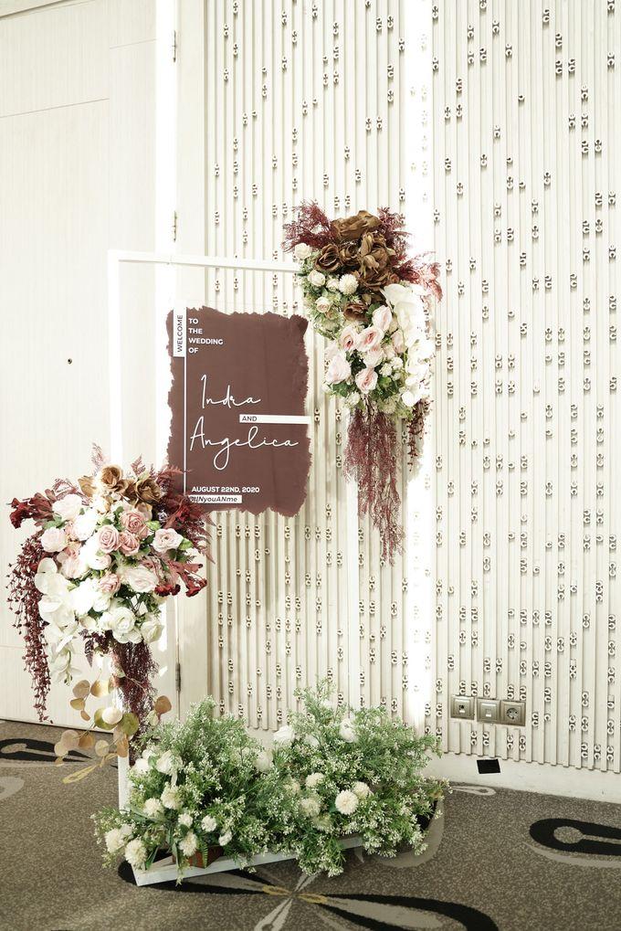 Indra  & Angel Wedding At Double Tree Hotel by Cerita Bahagia - 015