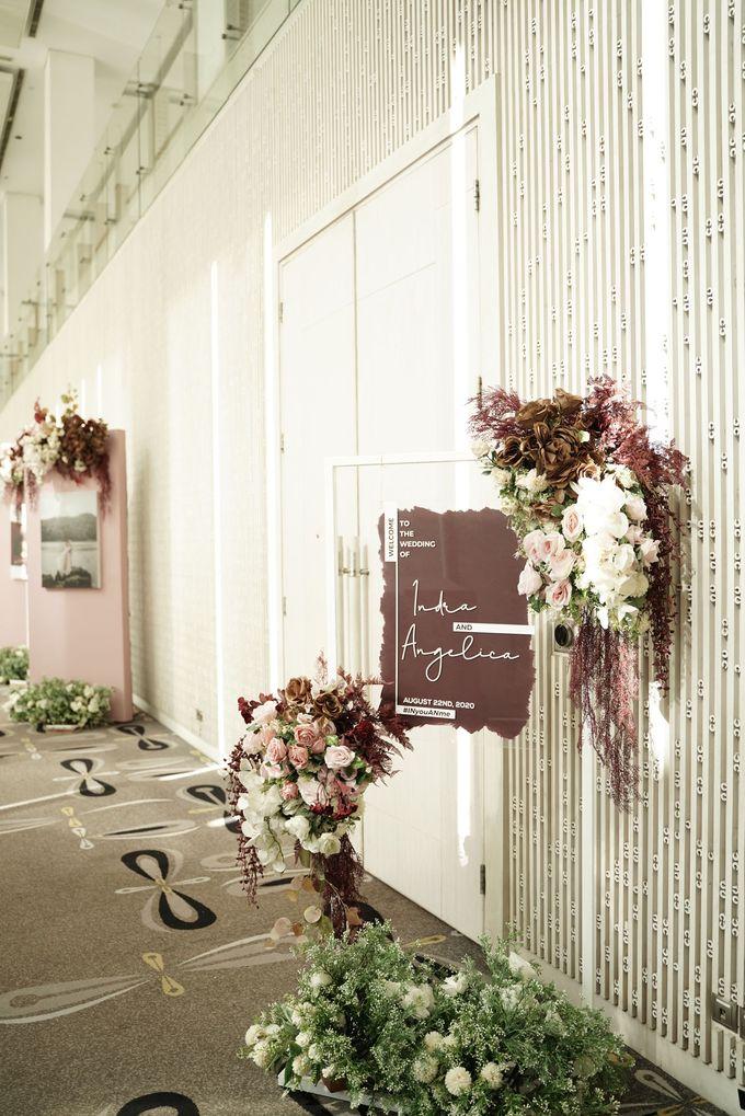 Indra  & Angel Wedding At Double Tree Hotel by Cerita Bahagia - 018
