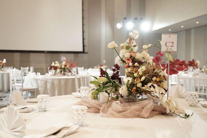 Indra  & Angel Wedding At Double Tree Hotel by Cerita Bahagia - 012
