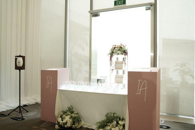 Indra  & Angel Wedding At Double Tree Hotel by Cerita Bahagia - 013
