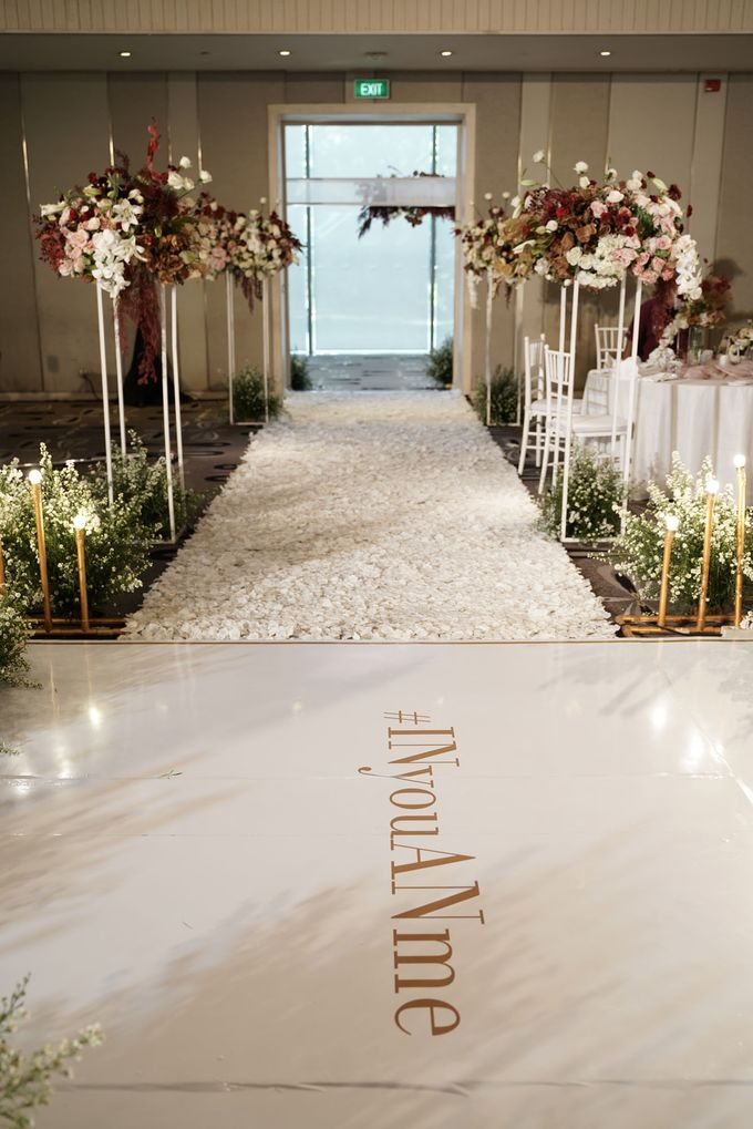 Indra  & Angel Wedding At Double Tree Hotel by Cerita Bahagia - 005