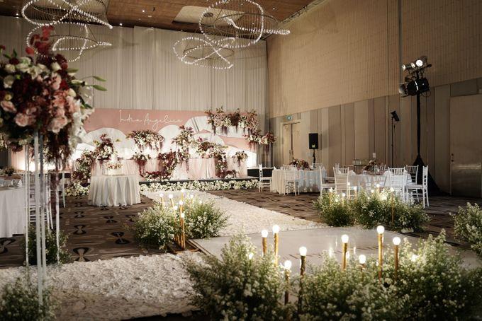 Indra  & Angel Wedding At Double Tree Hotel by Cerita Bahagia - 004