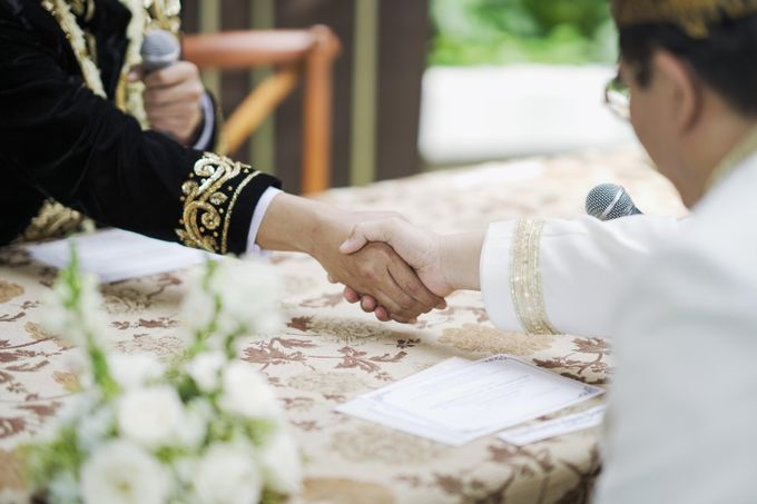 From Wedding Ceremony Randy & Andin by UK International Jakarta - 003