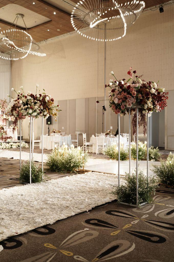 Indra  & Angel Wedding At Double Tree Hotel by Cerita Bahagia - 008