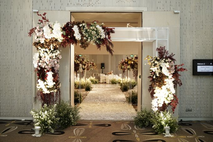 Indra  & Angel Wedding At Double Tree Hotel by Fiori.Co - 007