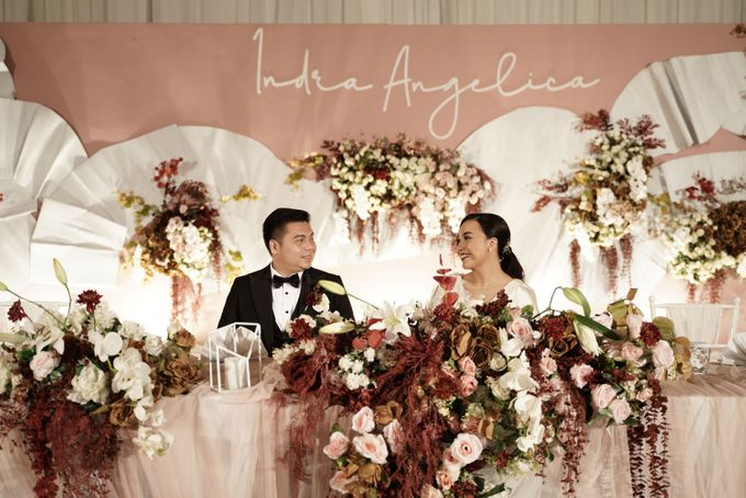 Indra  & Angel Wedding At Double Tree Hotel by Cerita Bahagia - 031