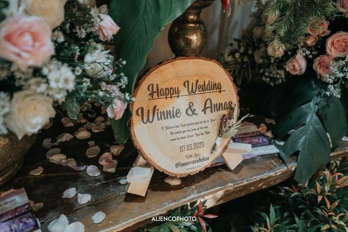 GEDUNG ANTAM WEDDING OF WINNIE & ANAS by alienco photography - 021