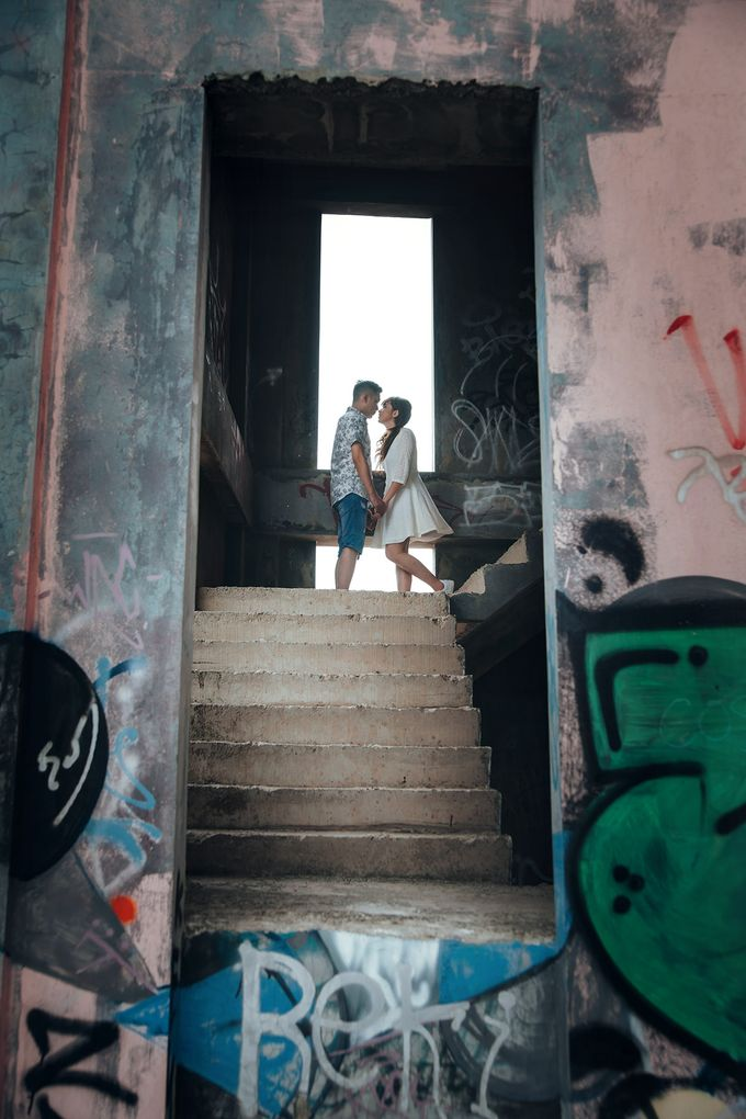 Prewedding at Gedung Gobel of Dessy & Aldo by: Gofotovideo by GoFotoVideo - 049