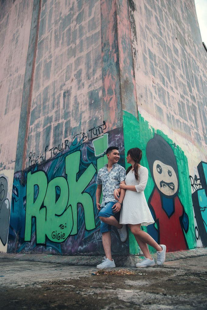 Prewedding at Gedung Gobel of Dessy & Aldo by: Gofotovideo by GoFotoVideo - 045