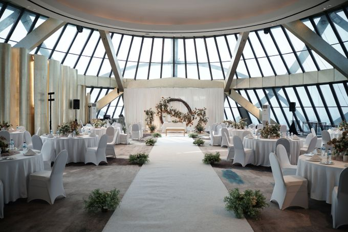 Adit & Wiwid Wedding At JHL Solitaire Serpong by Fiori.Co - 022