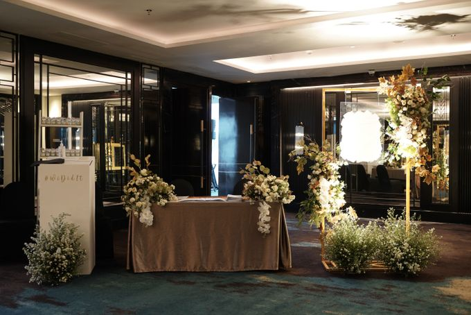 Adit & Wiwid Wedding At JHL Solitaire Serpong by Fiori.Co - 009
