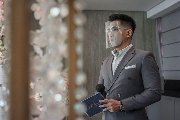 Wedding of ANDRE & OLIVIA by JW Marriott Hotel Surabaya - 005