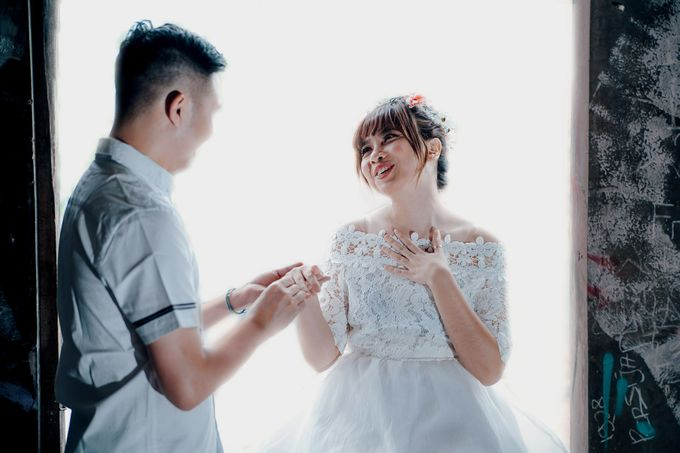 Prewedding at Gedung Gobel of Dessy & Aldo by: Gofotovideo by GoFotoVideo - 047