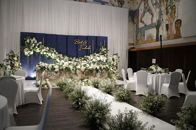 Bob & Indah Wedding At Ramayana Kempinski Hotel by Fiori.Co - 002