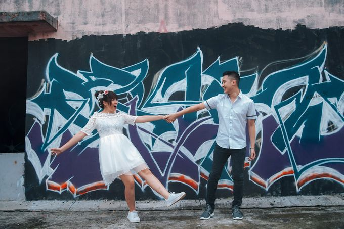 Prewedding at Gedung Gobel of Dessy & Aldo by: Gofotovideo by GoFotoVideo - 048
