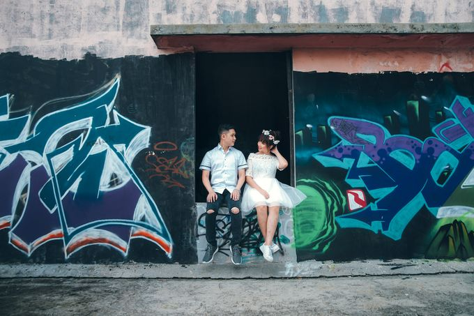 Prewedding at Gedung Gobel of Dessy & Aldo by: Gofotovideo by GoFotoVideo - 050