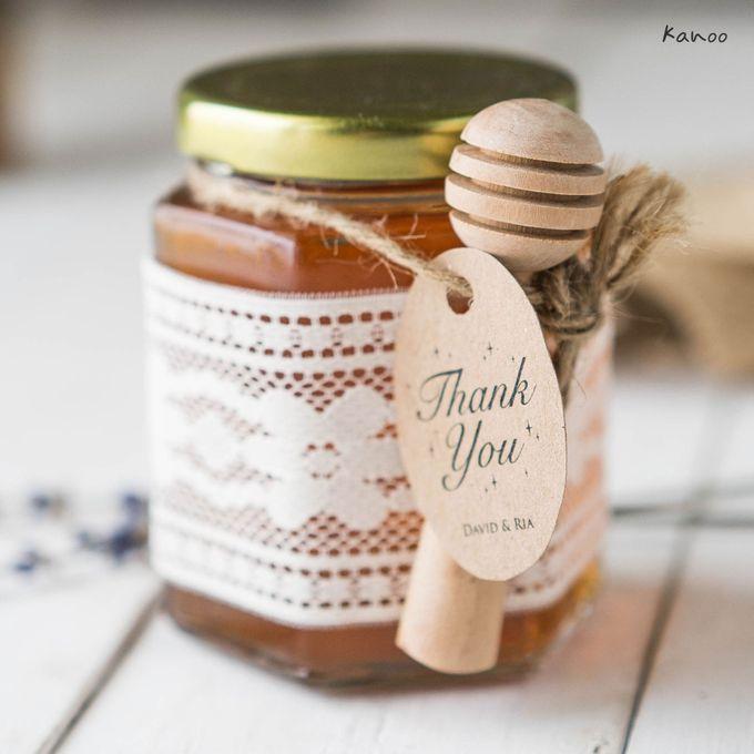 Wedding Souvenir - Honey in the Jar 45ml by Kanoo Paper & Gift - 003