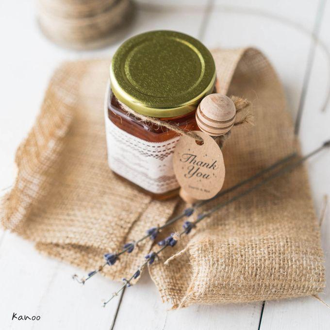 Wedding Souvenir - Honey in the Jar 45ml by Kanoo Paper & Gift - 004