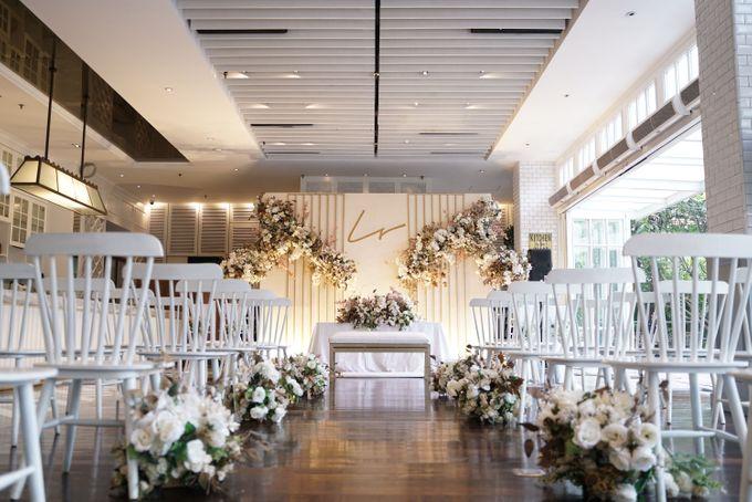 Leonard & Steffy Wedding At Wyls Kitchen by Fiori.Co - 002