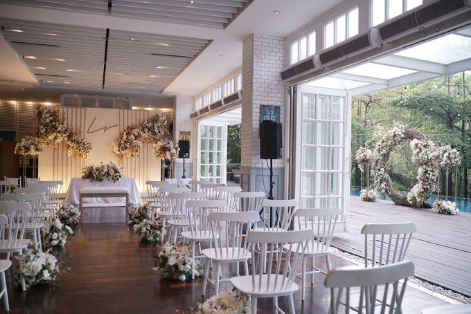 Leonard & Steffy Wedding At Wyls Kitchen by Fiori.Co - 005