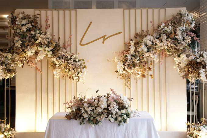 Leonard & Steffy Wedding At Wyls Kitchen by Fiori.Co - 003