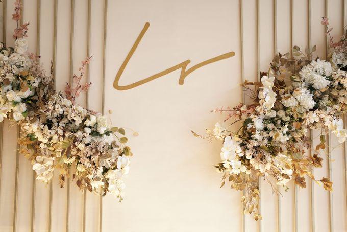 Leonard & Steffy Wedding At Wyls Kitchen by Fiori.Co - 013