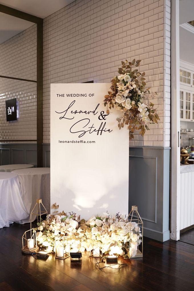 Leonard & Steffy Wedding At Wyls Kitchen by Fiori.Co - 007