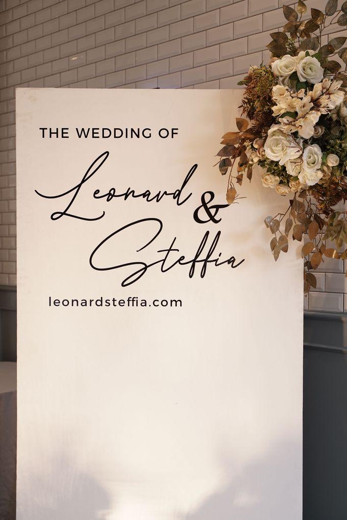 Leonard & Steffy Wedding At Wyls Kitchen by Fiori.Co - 009
