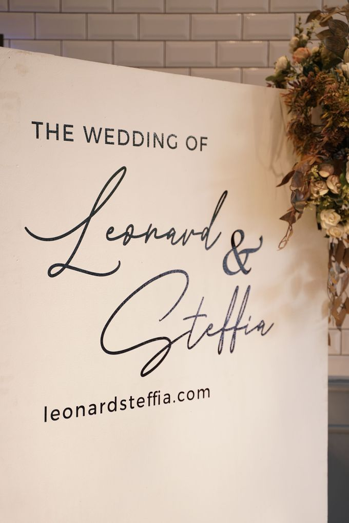 Leonard & Steffy Wedding At Wyls Kitchen by Fiori.Co - 012
