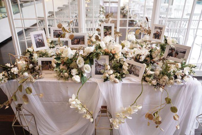 Leonard & Steffy Wedding At Wyls Kitchen by Fiori.Co - 008